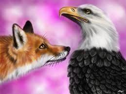 L'aquila dalle ali mozze e la volpe - Esopo