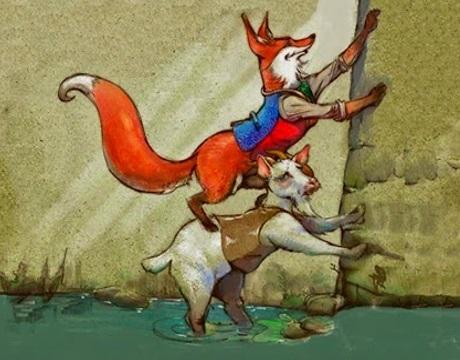 La volpe e il caprone - Fedro