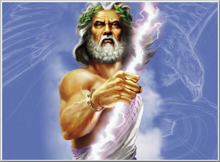 Zeus-Giove-padre-degli-Dei