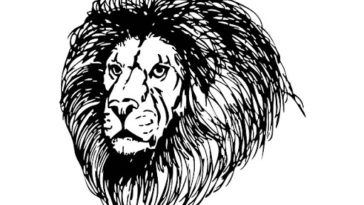 Il-figlio-e-il-leone-dipinto-Esopo